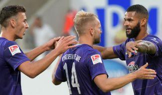 Heimspiel FC Erzgebirge Aue: Die aktuellen Spielergebnisse der 2. Fußball-Bundesliga bei news.de. (Foto)