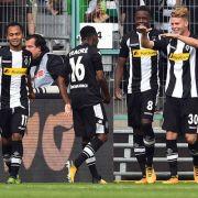 Frankfurt verliert gegen Gladbach - 3:1 (Foto)