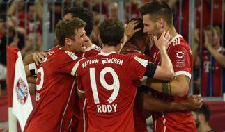 HeimspielFC Bayern München: Die aktuellen Spielergebnisse der 1. Fußball-Bundesliga bei news.de. (Foto)