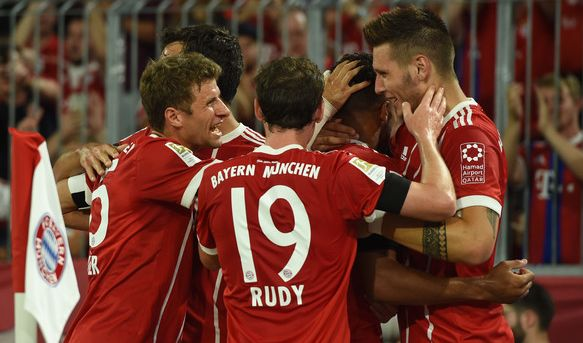FC Bayern - Wolfsburg im TV