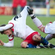 Hamburger SV geht gegen FC Erzgebirge Aue im 1:1-Remis vom Platz (Foto)