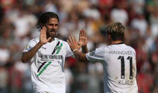 Heimspiel Hannover 96: Die aktuellen Spielergebnisse der 1. Fußball-Bundesliga bei news.de. (Foto)