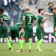 Das hatte sich Werder anders vorgestellt: 1:3 gegen Gladbach (Foto)