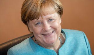 Angela Merkel gibt sich im Wahlkampf volksnah. (Foto)
