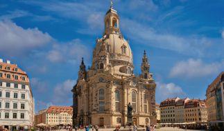Die Frauenkirche in Dresden soll im Visier von IS-Terroristen stehen. (Foto)