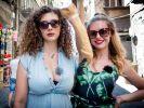 Ines Anioli und Leila Lowfire