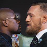 FloydMayweather siegt in seinem letzten Kampf gegen McGregor durch technisches K.o. (Foto)