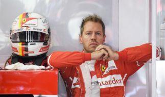 Formel-1-Pilot Sebastian Vettel hat seinen Vertrag bei Ferrari vorzeitig bis 2020 verlängert. (Foto)