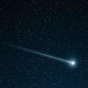 Grüner Feuerball mit Schweif! Saust hier ein Ufo über den Nachthimmel? (Foto)