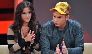 Sarah und Pietro Lombardi raufen sich nach ihrer Trennung für Söhnchen Alessio zusammen. (Foto)