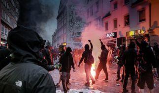 Der erste Gewalttäter des G20-Gipfels steht vor Gericht. (Foto)