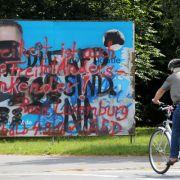 AfD zahlt Kopfgeld für Plakat-Zerstörer (Foto)