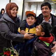 2018 können wohl 390.000 Syrer ihre Familien nach Deutschland holen (Foto)