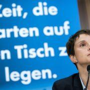 AfD-Chefin muss Farbe bekennen! Parlamentarische Immunität aufgehoben (Foto)