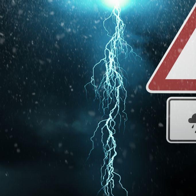 Achtung - Unwetter bringen hier Orkan, Hagel und Gewitter (Foto)