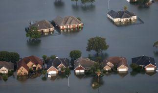 Wenn das Wasser weicht, werden auch die Ausmaße des Hurrikan sichtbar. (Foto)
