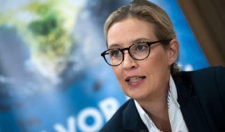 AfD-Spitzenkandidatin Alice Weidel schießt scharf gegen Angela Merkel. (Foto)