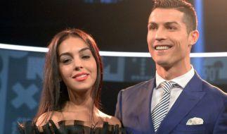 Georgina Rodriguez mit ihrem Freund, dem portugiesischen Profi-Fußballer, Cristiano Ronaldo. (Foto)