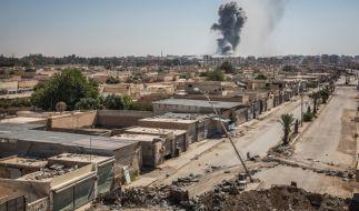 Syrische Kriegsverbrecher zieht es auf dem Fluchtweg nach Europa. (Foto)
