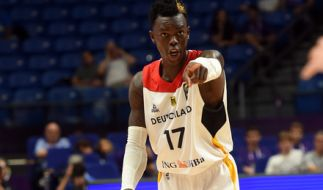 Deutschlands Dennis Schroeder in Aktion. (Foto)