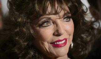 Joan Collins sieht auch mit 84 Jahren noch blendend aus. (Foto)