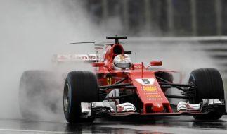 Für Vettel reichte es im Ferrari-Mekka nur zu Platz 3. (Foto)