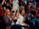 """Davina, Shania und Robert Geiss jubeln Mutter Carmen bei """"Let's Dance"""" zu. (Foto)"""
