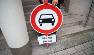 Angela Merkel will Fahrverbote eigentlich vermeiden. (Foto)