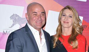 Seit 2001 verheiratet: Steffi Graf und Andre Agassi. (Foto)