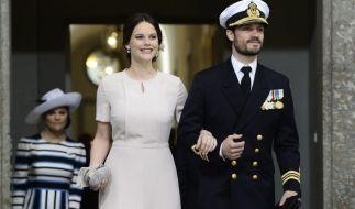 Prinzessin Sofia von Schweden und Prinz Carl Philip von Schweden schweben derzeit im Baby-Glück! (Foto)