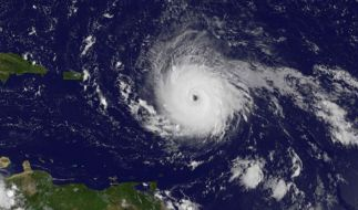 "Hurrikan ""Irma"" wütet in der Karibik. (Foto)"