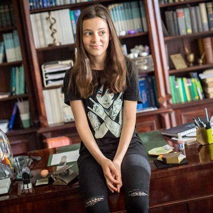 """Das """"Pubertier"""" macht mit 14 Jahren fleißig Karriere (Foto)"""