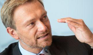 FDP-Chef Christian Lindner (Foto)