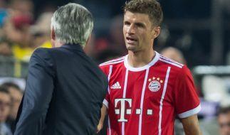 Thomas Müller muss im Spiel gegen Hoffenheim auf den Platz. (Foto)