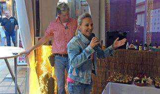 """Unter ihrem Künstlernamen """"Krümel"""" ist Marion Pfaff auf Mallorca schon seit Jahren eine gefragte Schlagersängerin. (Foto)"""