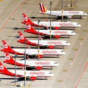 Air Berlin streicht 100 Flüge - Passagiere sollten auf Umbuchung bestehen (Foto)