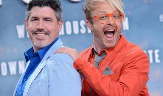 Ross Antony mit Ehemann Paul Reeves. Der Entertainer hatte eine schwere Phase durchlebt. (Foto)