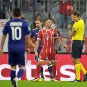 Bayern quält sich zum Sieg - Ribéry tickt aus und wütet nach Auswechslung (Foto)