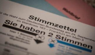 Am 24. September 2017 ist Bundestagswahl. (Foto)