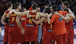 Nach dem Sieg gegen Deutschland steht Spanien im Halbfinale der Basketball-EM 2017. (Foto)
