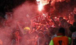 Fan-Idioten ließen das Köln-Spiel ließen das EL-Spiel in der Hintergrund treten. (Foto)
