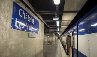 In der Pariser Metrostation Chatelet kam es zu einem Terror-Angriff auf eine Polizeipatrouille (Symbolfoto). (Foto)