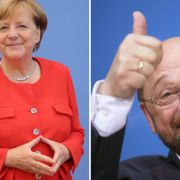 Kurz vor Bundestagswahl - SPD legt in Umfrage zu und CDU verliert (Foto)