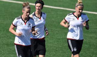 Das deutsche Frauenteam trifft in der WM-Quali auf Slowenien. (Foto)