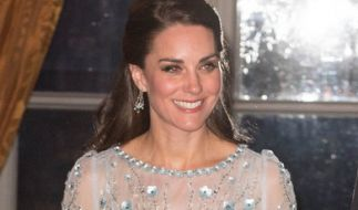 Kate Middleton soll Meghan Markles Brautjungfer werden. (Foto)