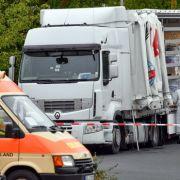 Flüchtlinge nach entdeckter LKW-Schleuserfahrt verschwunden (Foto)