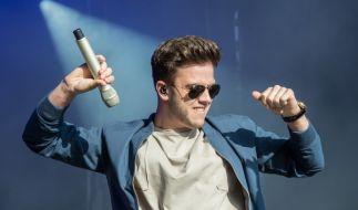 """Der Schweizer Sänger Luca Hänni wurde durch """"Deutschland sucht den Superstar"""" berühmt. (Foto)"""