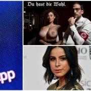 WhatsApp: Adressbücher nicht mehr sicher // Nippelgate vor der Bundestagswahl // Brust-Horror bei Lena Meyer-Landrut (Foto)