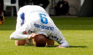 Ob der Duisburger Simon Brandstetter am 8. Spieltag gegen Holstein Kiel ebenso gefrustet ist wie während der Partie gegen den 1. FC Nürnberg am 6. Spieltag in der 2. Bundesliga? (Foto)