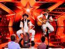 """Das Musikergespann Manne (l.) und Mohli (r.) aus Walddorfhäslach zeigt der Jury bei """"Das Supertalent"""", wie Unterhaltung funktioniert. (Foto)"""
